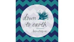 Down to Earth Boutique-Tea Logo